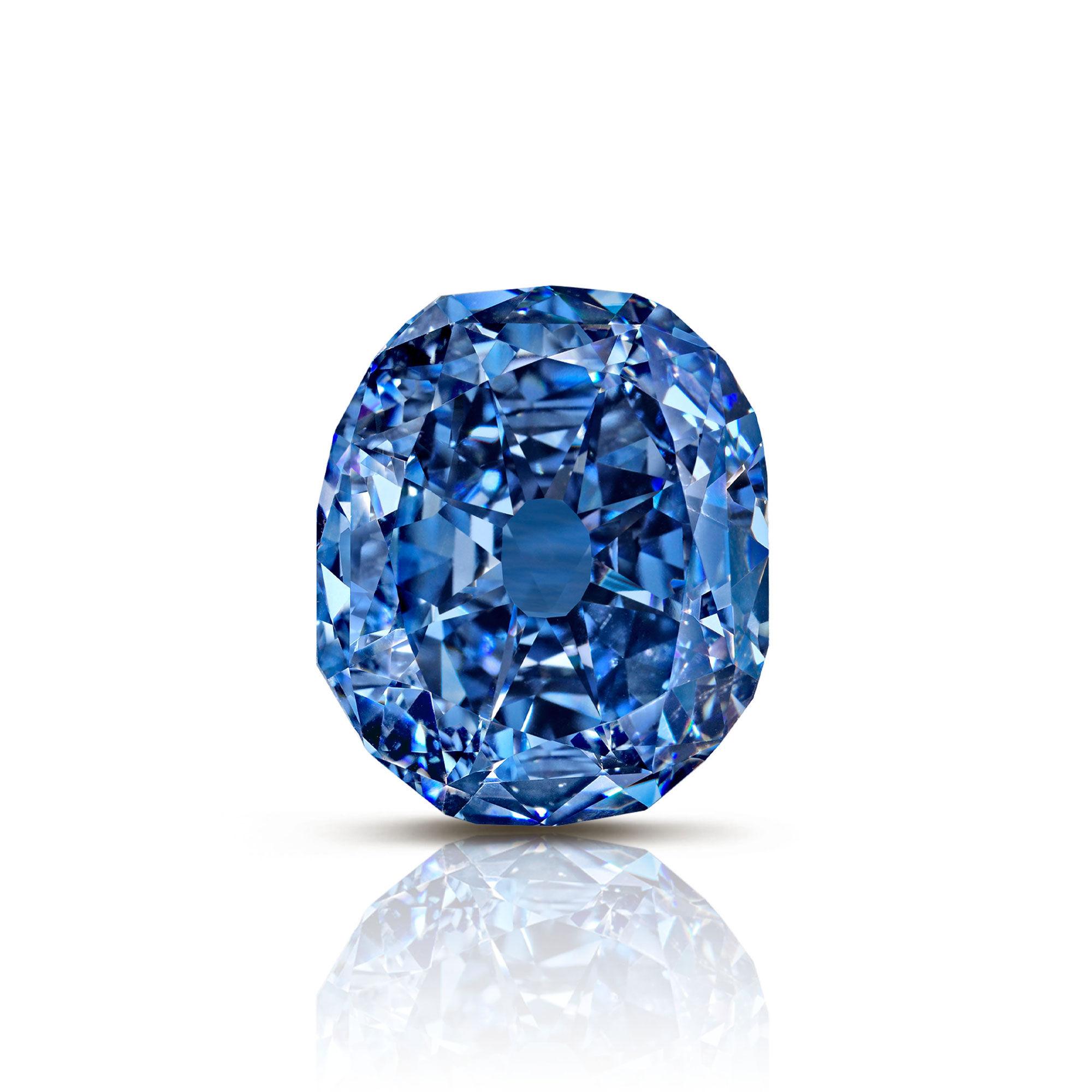 The Wittlesbach-Graff blue diamond