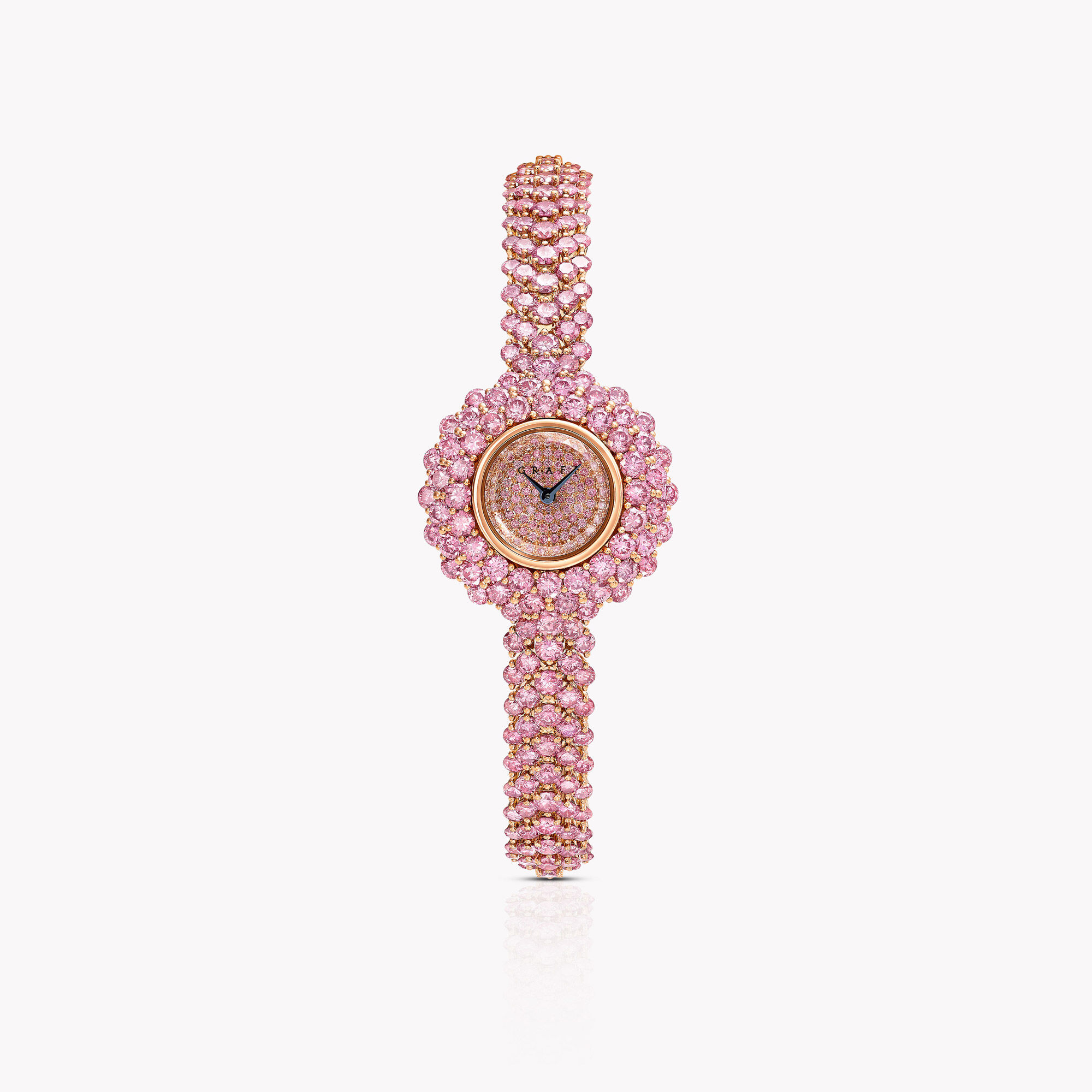 Oval Diamond Watch (24.49 cts) from the Graff unique timepieces collection