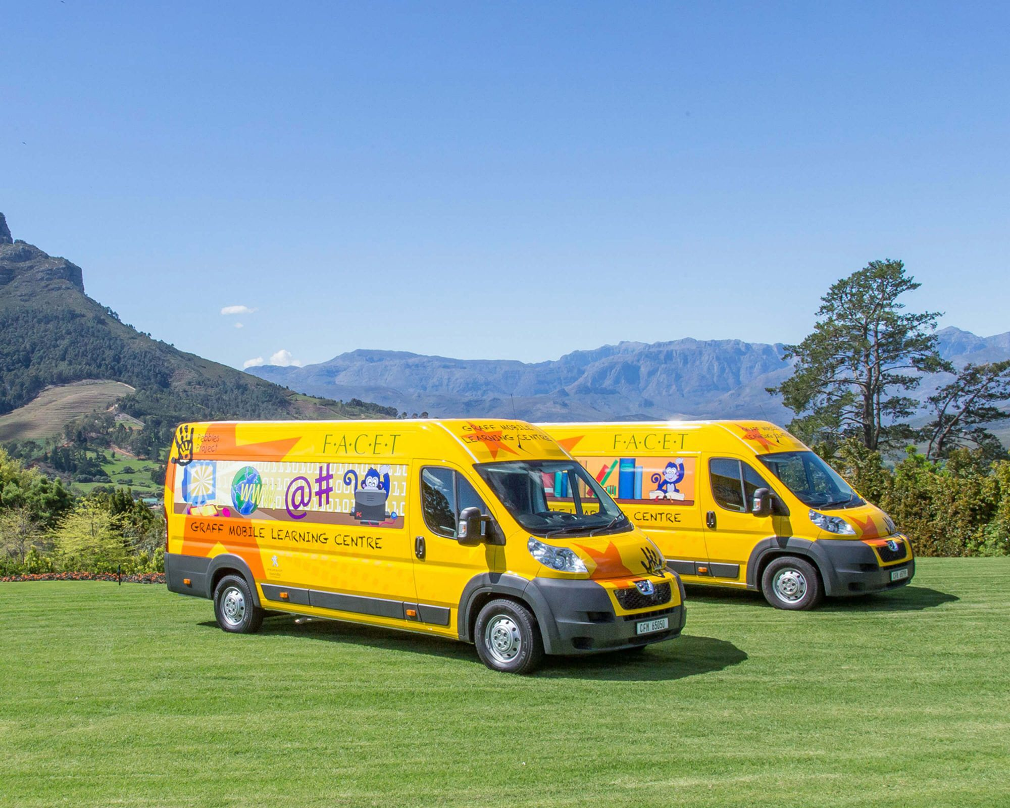 Graff FACET Foundation South Africa Mobile Library
