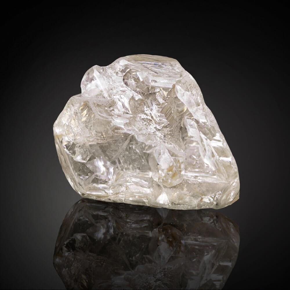 The 709 carat Peace Diamond rough stone