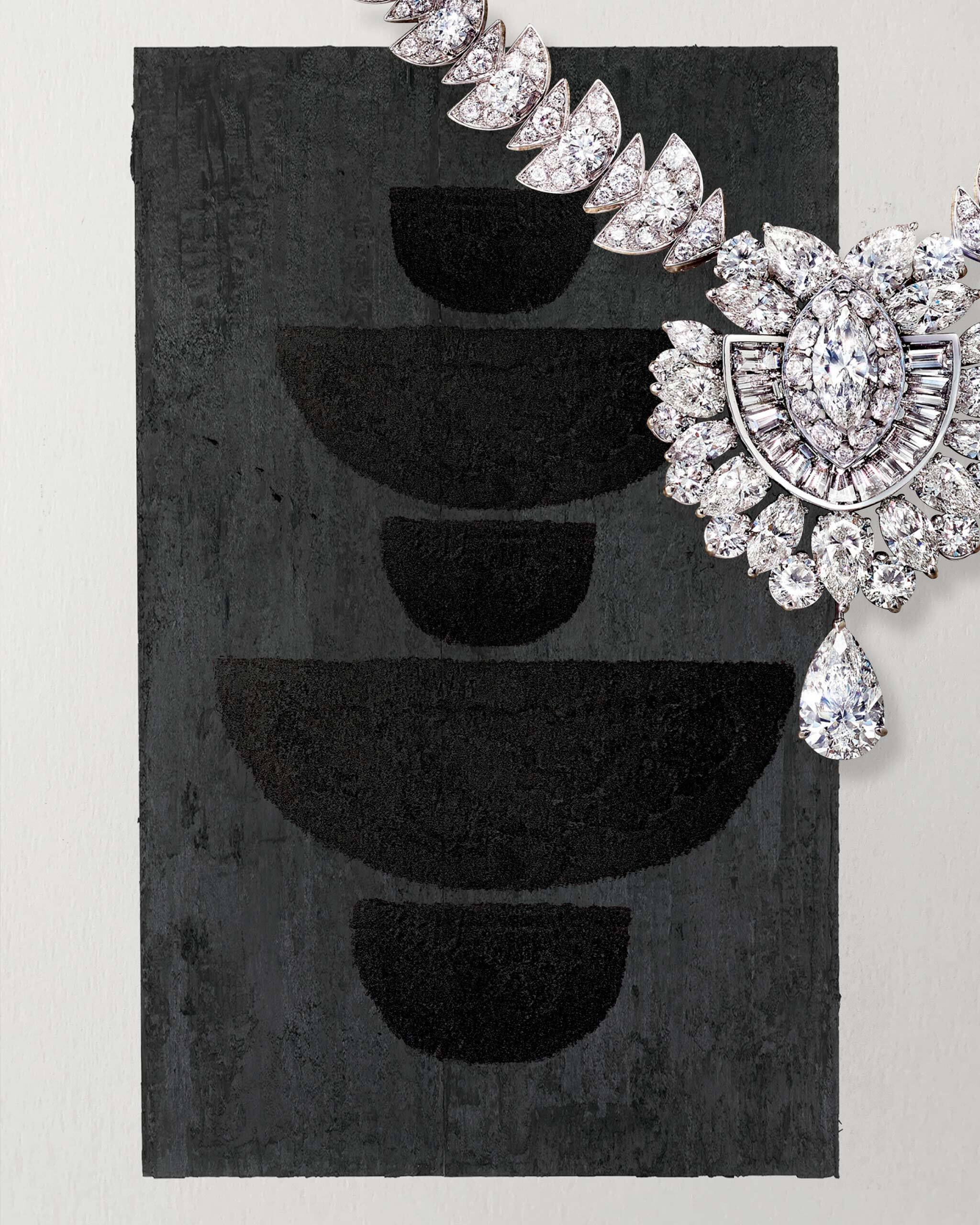 Diamond Night Moon high jewellery necklace from the Graff Tribal collection