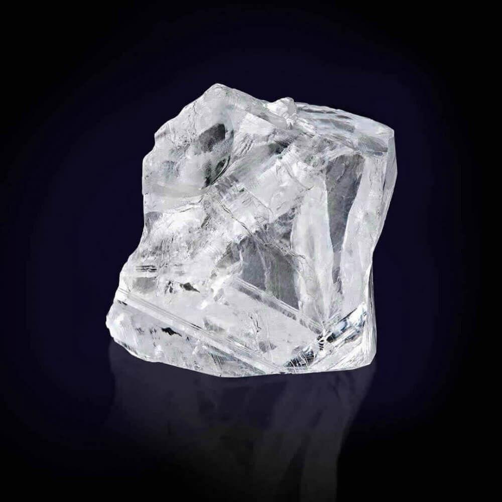 a 373 carat rough diamond
