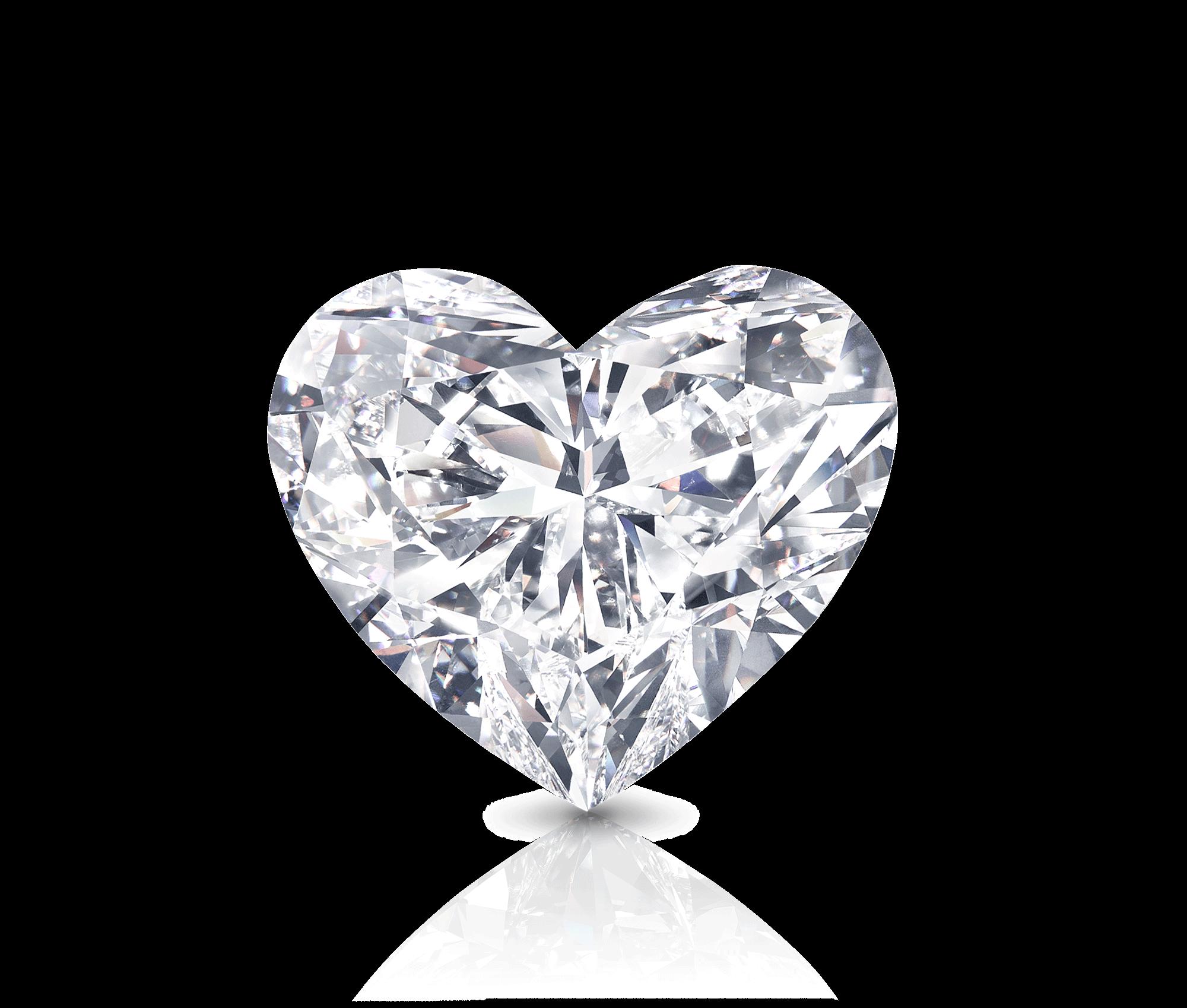 The Graff Venus - a heart shape white diamond