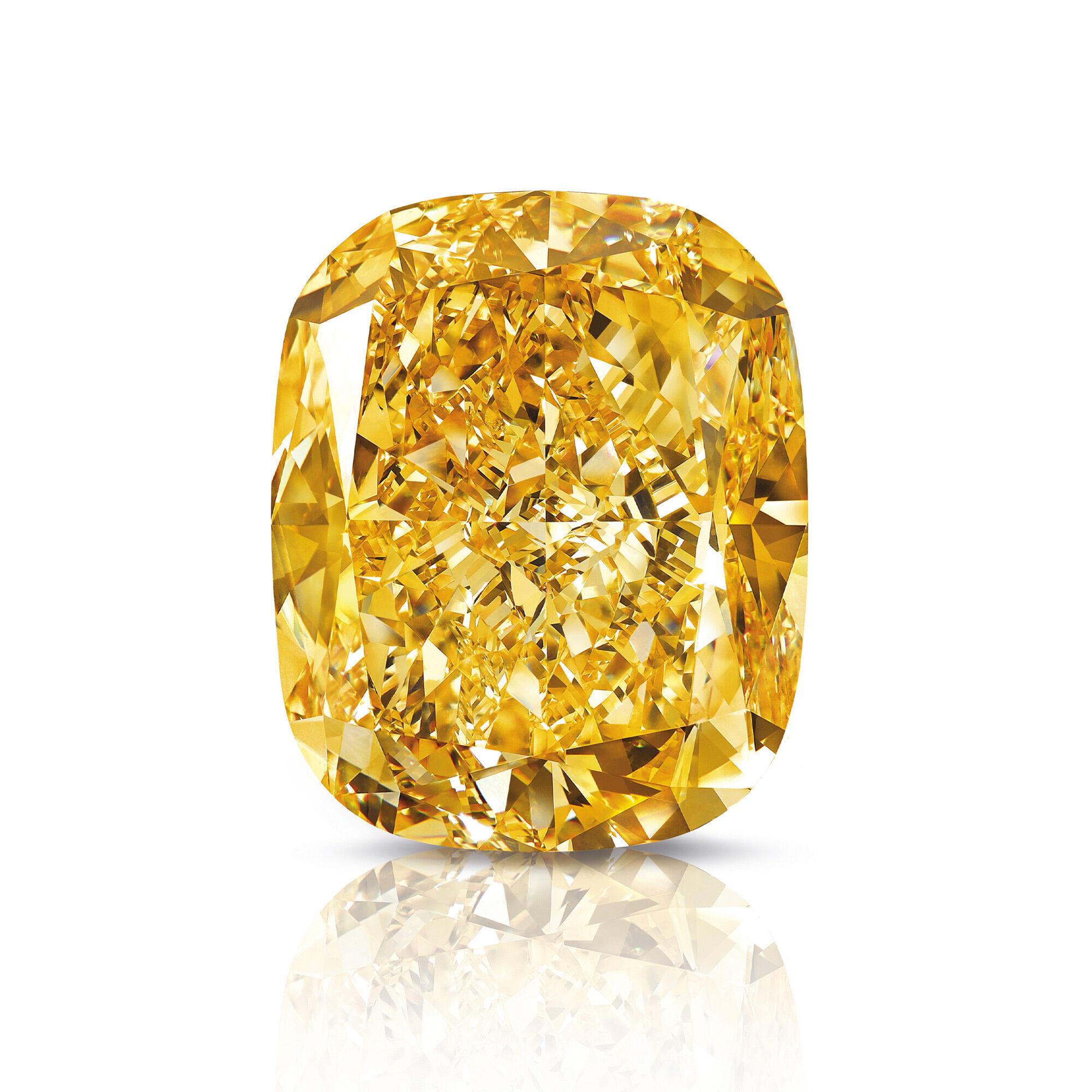 The Golden Empress famous diamond by Graff