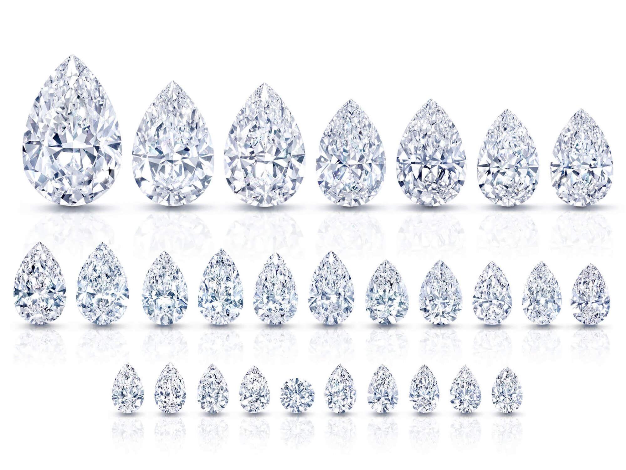 The Graff Letseng Star famous diamond and it's satellite diamonds