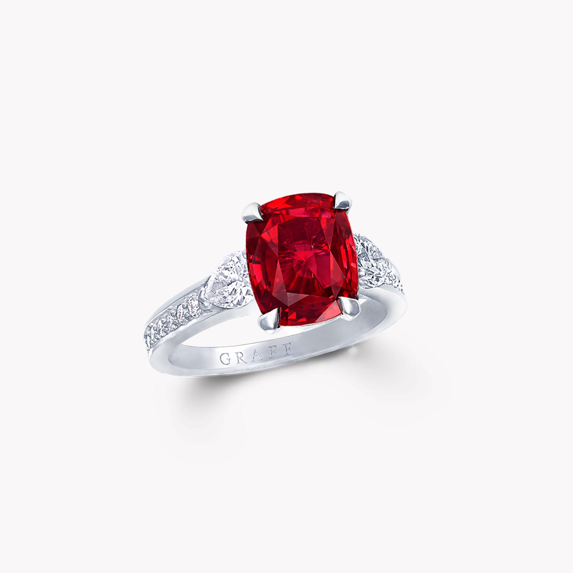 A Graff ruby and white diamond high jewellery bracelet