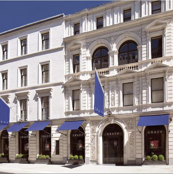 Graff Bond Street Flagship Jewellery Store