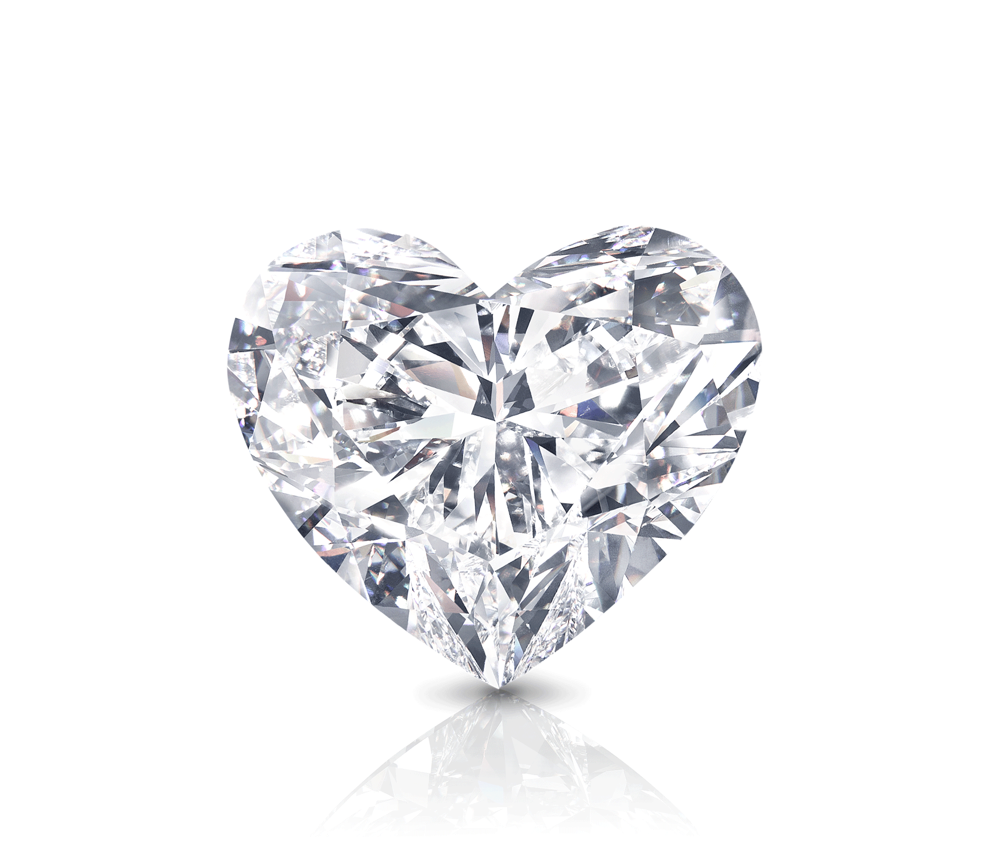 The Graff Venus - a heart shape white diamond