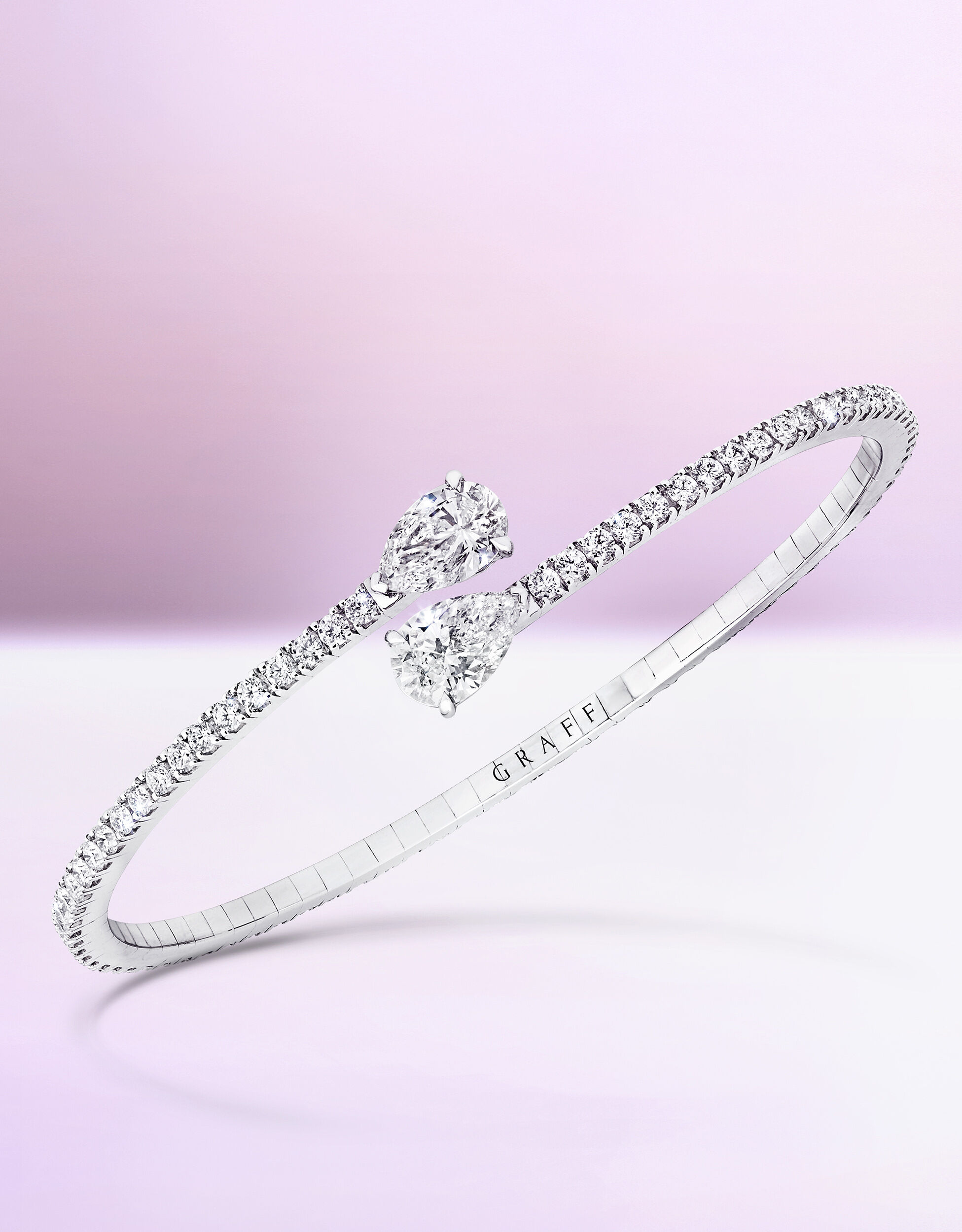 A Graff Duet Jewellery Collection Diamond Bangle