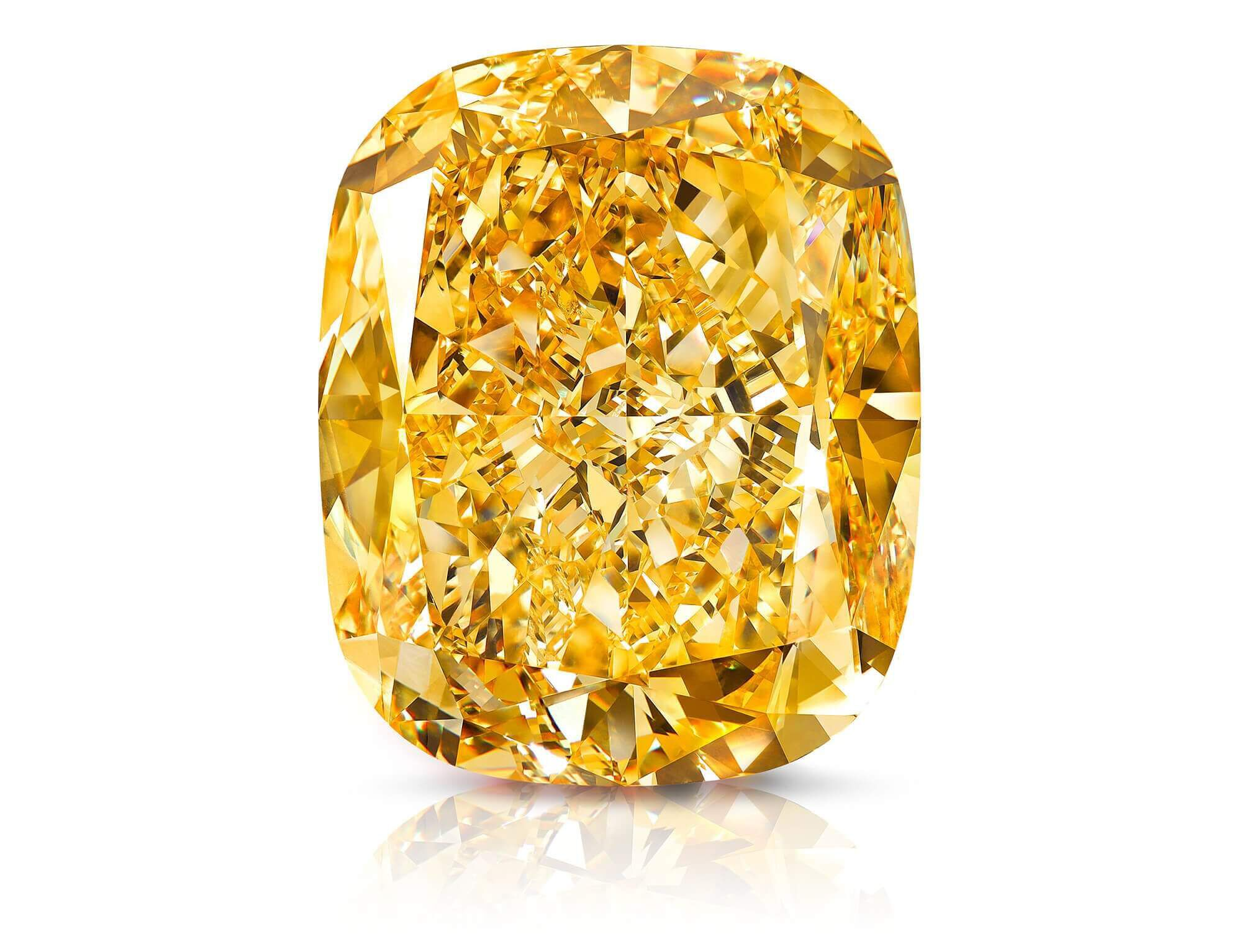 The Golden Empress yellow diamond by Graff