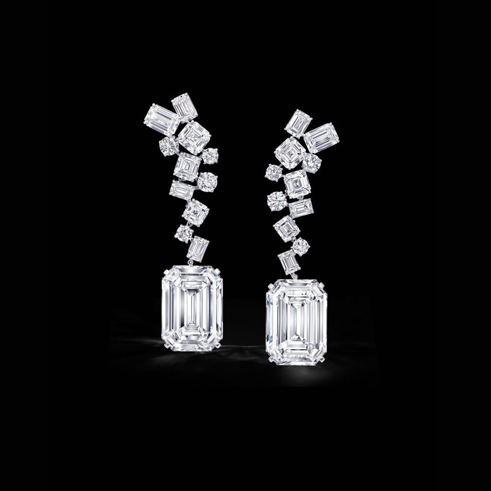 The famous Graff Eternal Twins diamonds