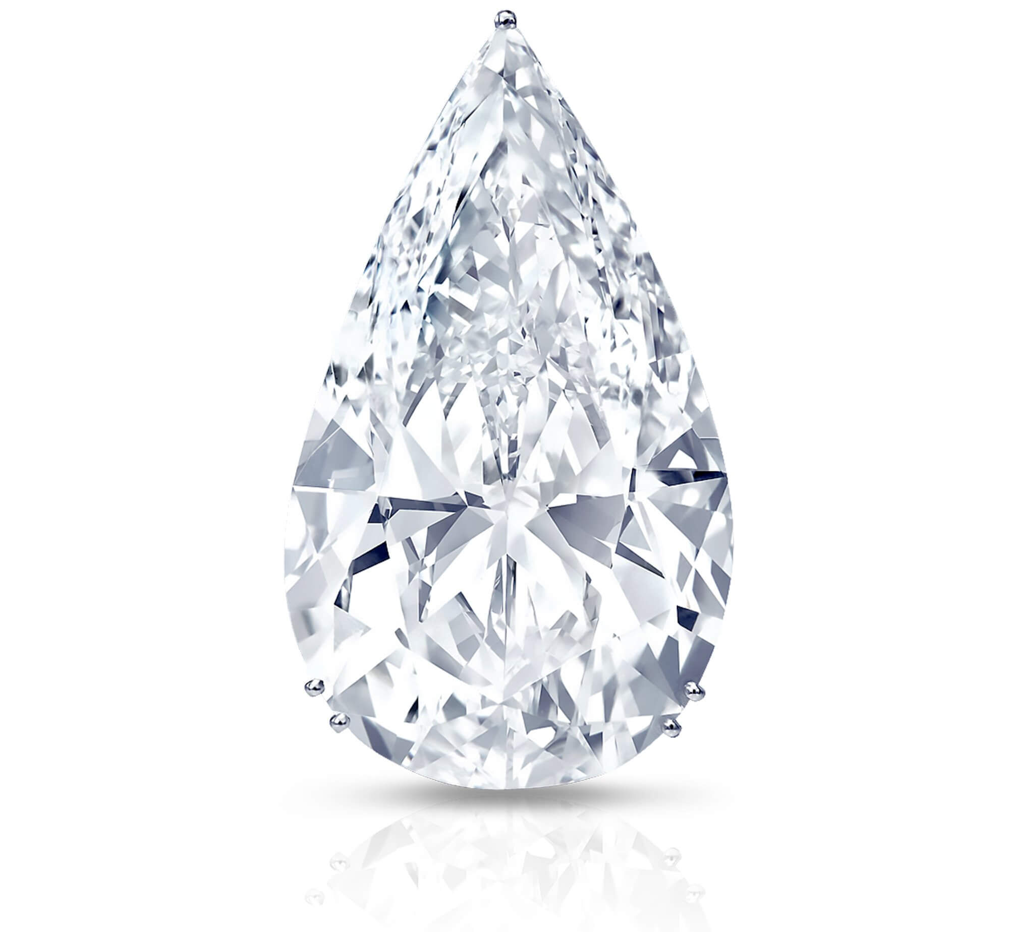 The 100 carat D flawless pear shape 'Graff Perfection' diamond