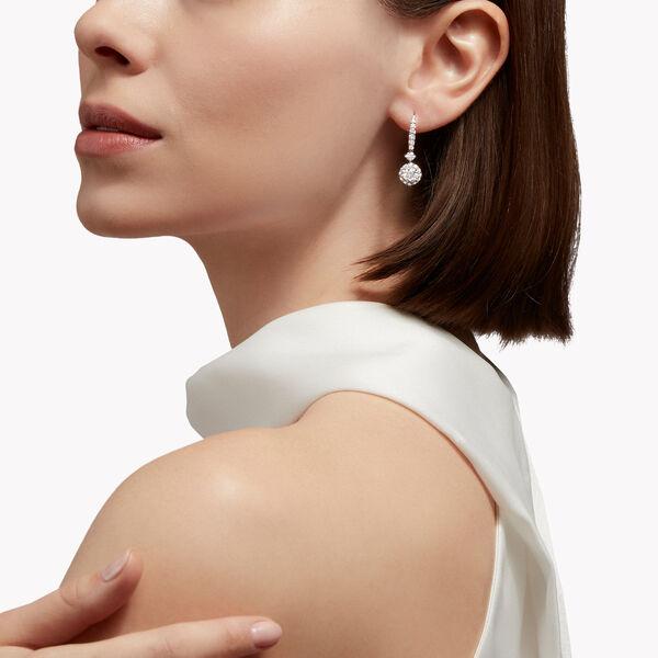 Icon圆形钻石耳环, , hi-res