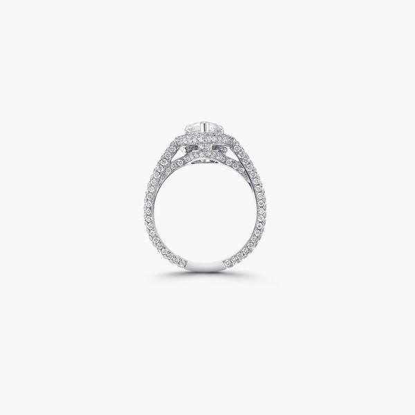 Constellation Pear Shape Diamond Engagement Ring, , hi-res