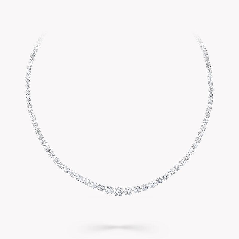 圆形钻石项链, , hi-res