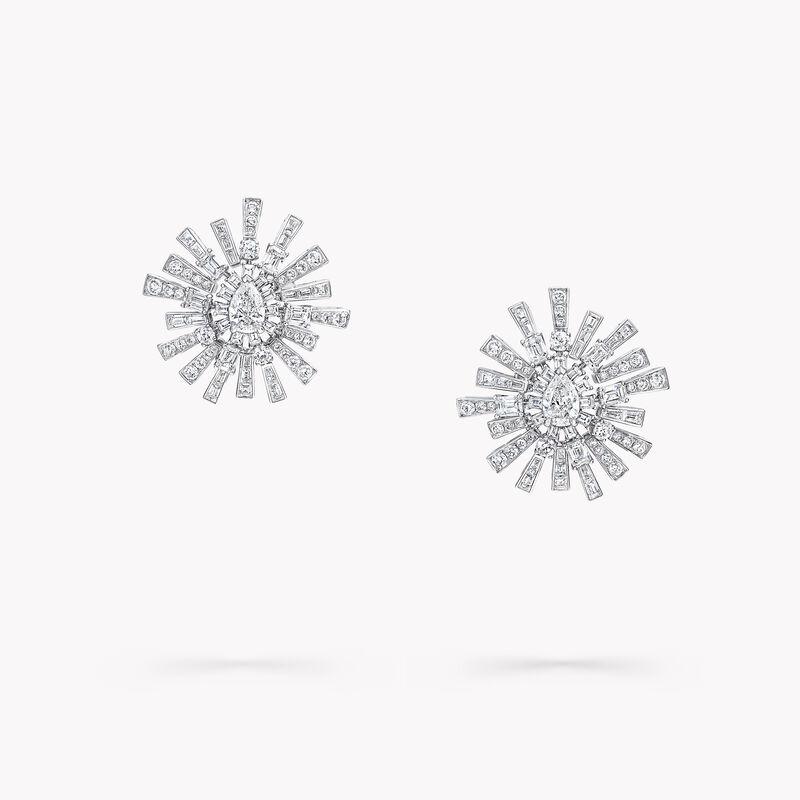 New Dawn钻石高级珠宝耳环, , hi-res