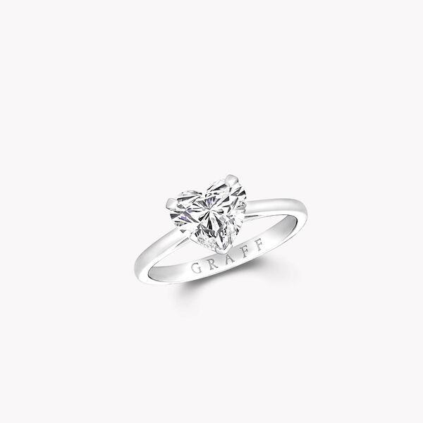 Paragon心形钻石订婚戒指, , hi-res