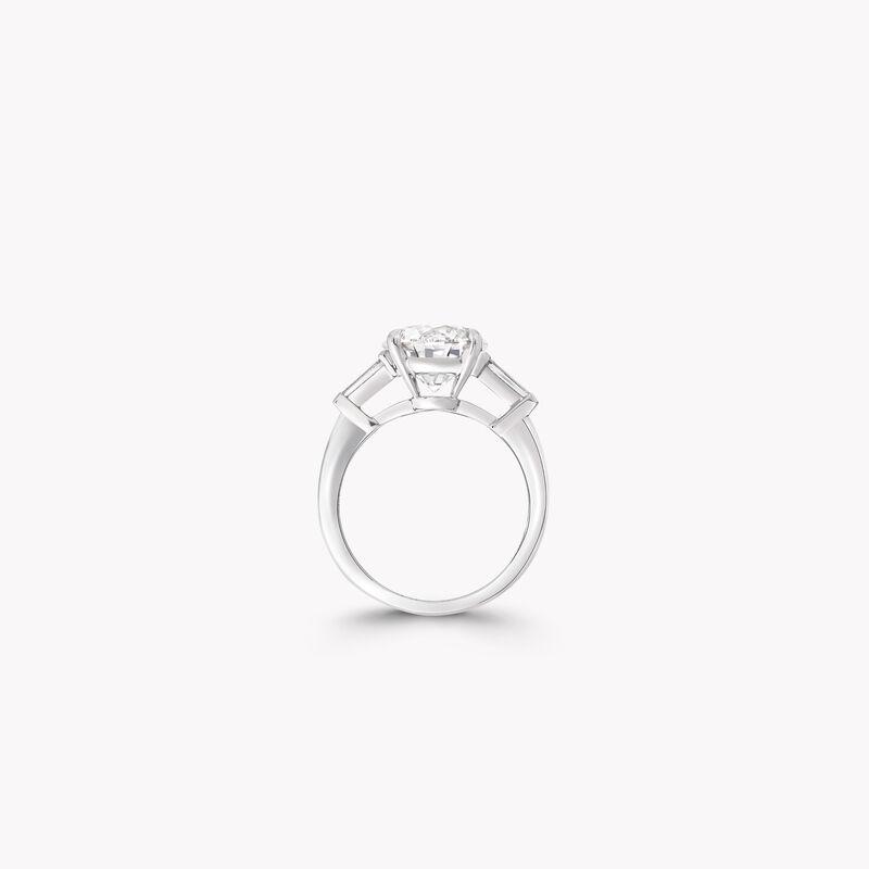 Promise圆形钻石订婚戒指, , hi-res