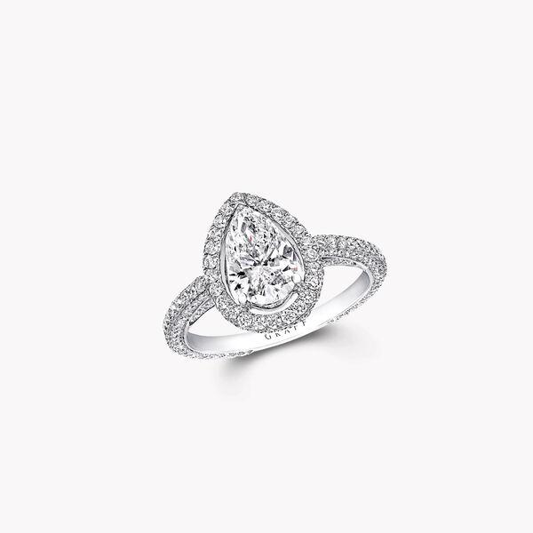 Constellation梨形钻石订婚戒指, , hi-res