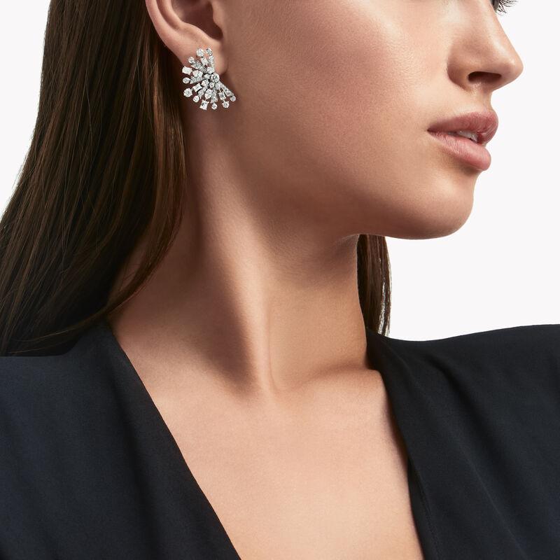 New Dawn Multi-Shape Diamond Stud Earrings, , hi-res