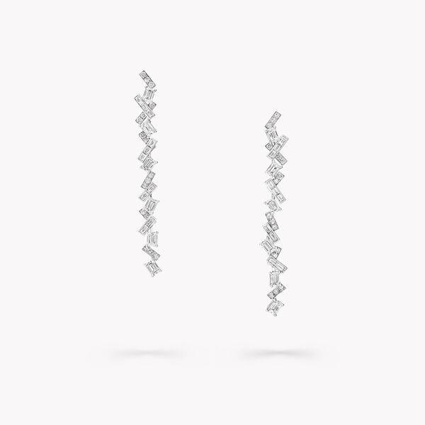 Threads钻石长耳环, , hi-res