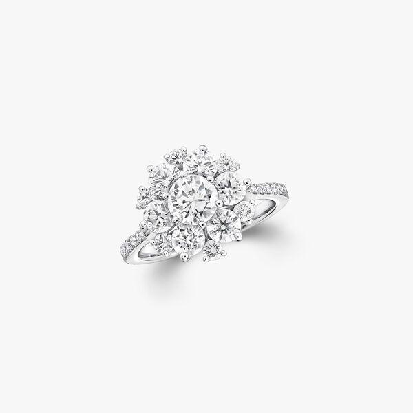 圆形钻石戒指, , hi-res