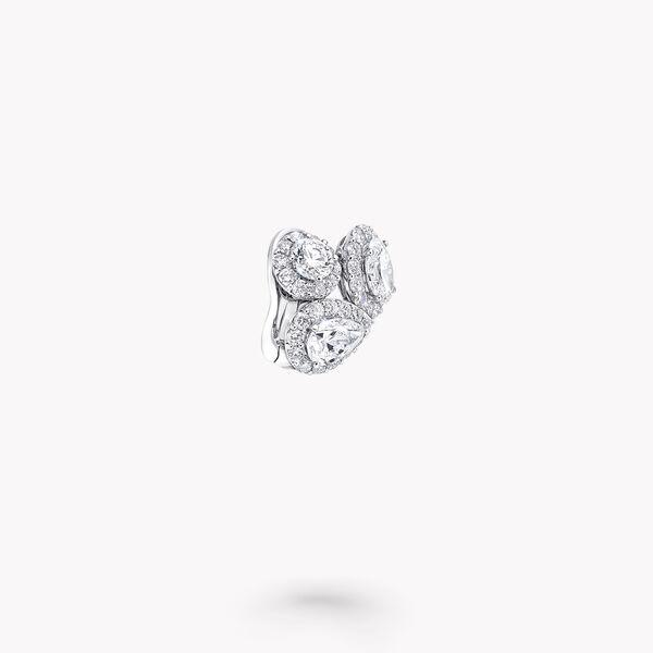 Icon多形切割钻石耳环, , hi-res