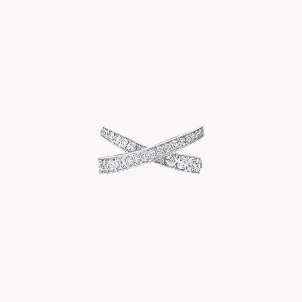 Kiss密镶钻石戒指, , hi-res