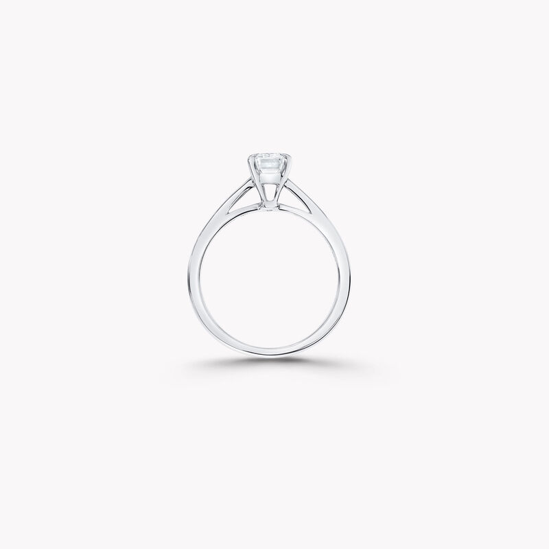 Paragon祖母绿形切割钻石订婚戒指, , hi-res