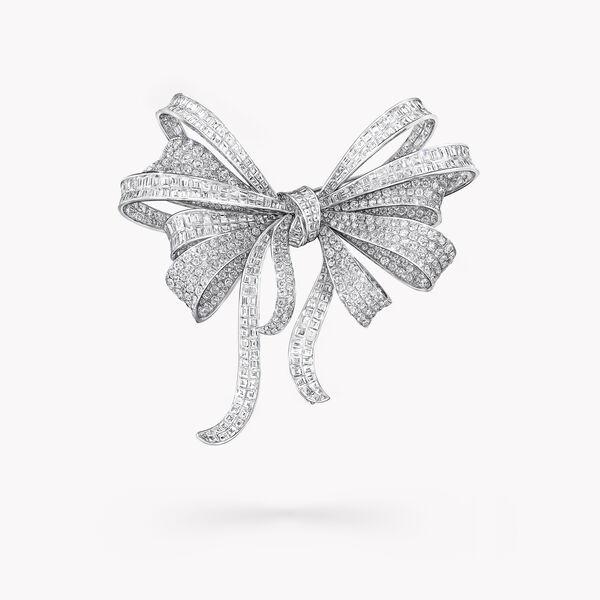 Tilda's Bow 高级珠宝钻石胸针, , hi-res
