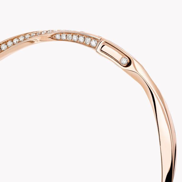Spiral密镶钻石手镯, , hi-res