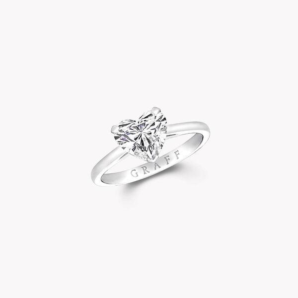 Paragon Heart Shape Diamond Engagement Ring, , hi-res