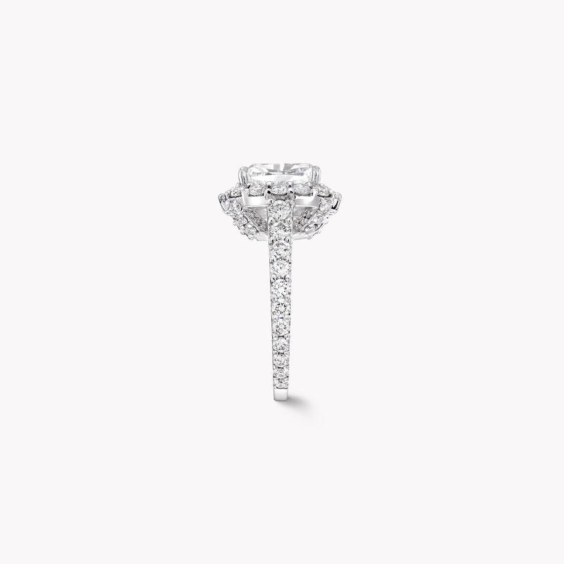 Icon Cushion Cut Diamond Engagement Ring, , hi-res