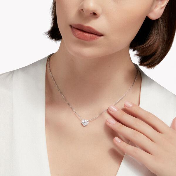 Icon心形钻石吊坠, , hi-res
