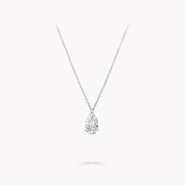 梨形钻石吊坠, , hi-res