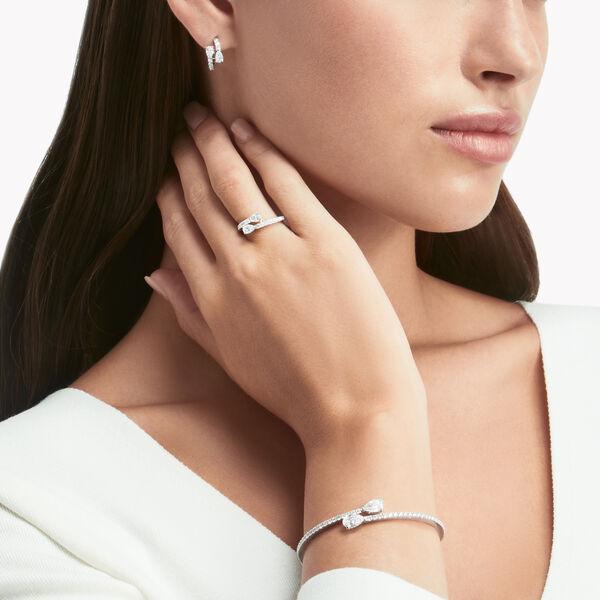 Duet钻石环圈耳环, , hi-res