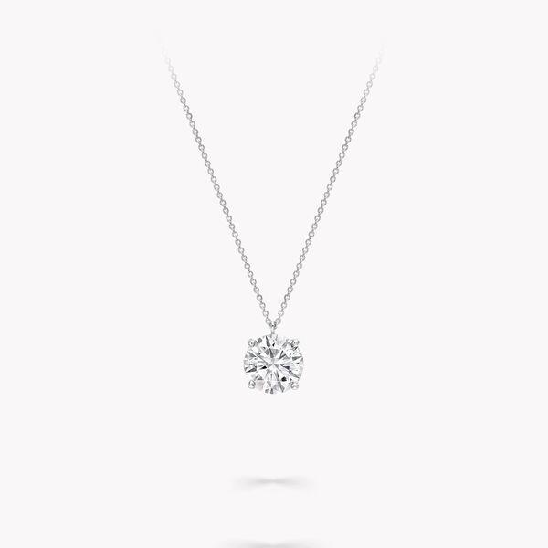 圆形钻石吊坠, , hi-res