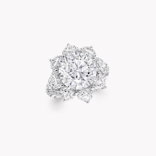 高级珠宝钻石戒指, , hi-res