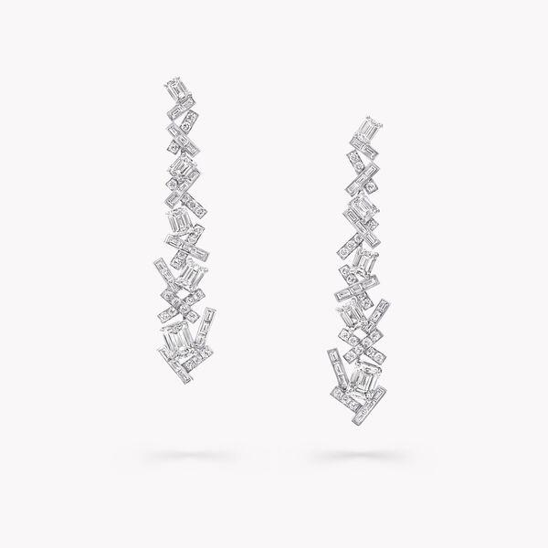 Threads经典钻石长耳环, , hi-res