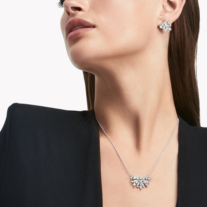 New Dawn Multi-Shape Diamond Pendant, , hi-res
