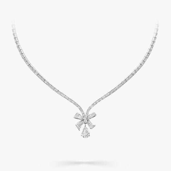 Tilda's Bow梯形钻石项链, , hi-res