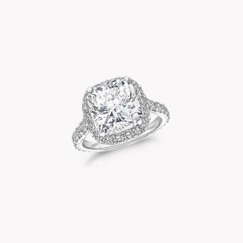 Icon枕形切割钻石戒指, , hi-res