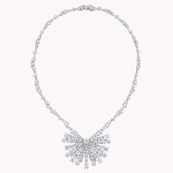 Solar钻石高级珠宝项链, , hi-res