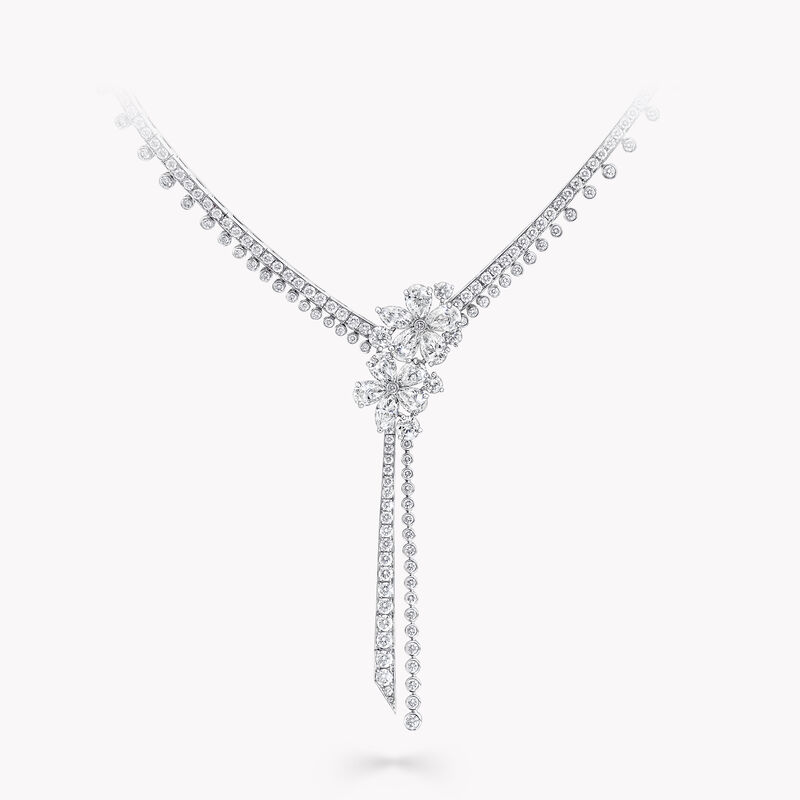 Carissa Diamond Drop Necklace, , hi-res