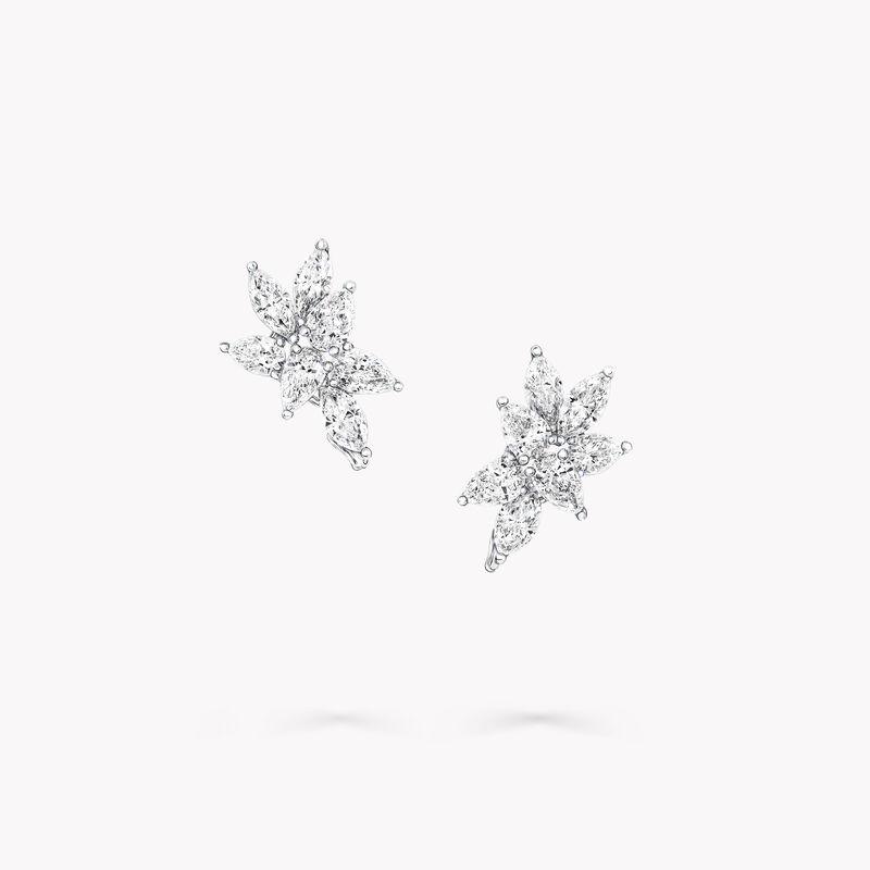 Multi-shape Diamond Small Stud Earrings, , hi-res
