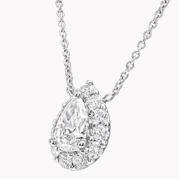 Icon梨形钻石吊坠, , hi-res