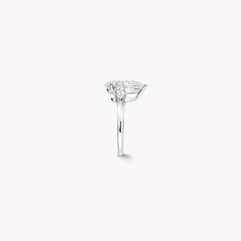 梨形钻石高级珠宝戒指, , hi-res