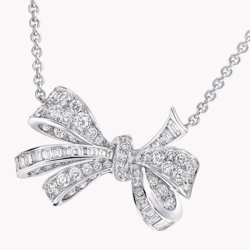 Tilda's Bow钻石吊坠, , hi-res