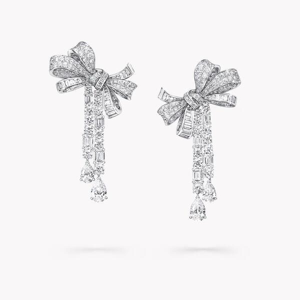 Tilda's Bow多形切割钻石高级珠宝耳环, , hi-res