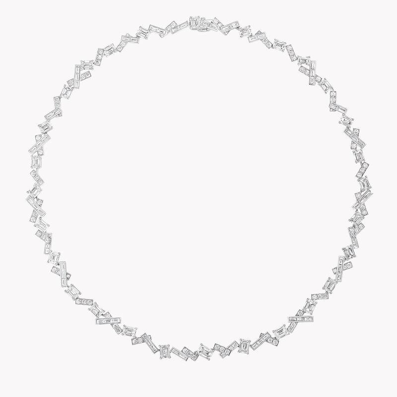 Threads Diamond Necklace, , hi-res